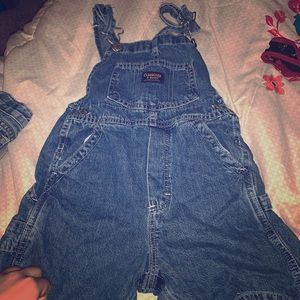 Size 4T boys shorts overalls